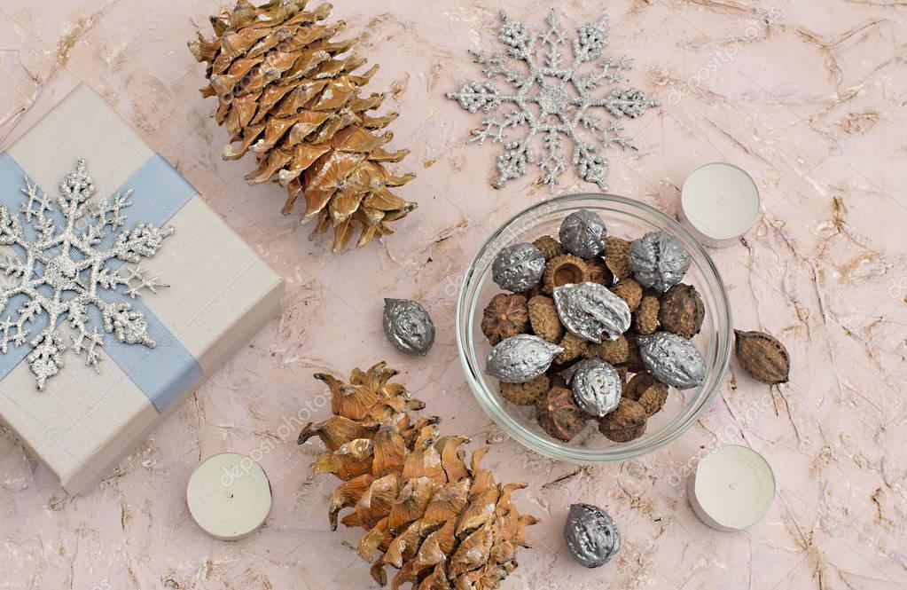 Christmas composition decoration