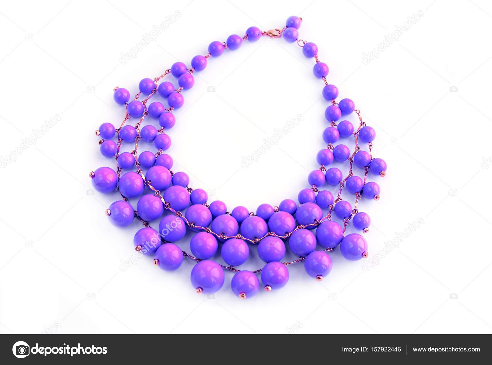 1edf06aec14a Collar de moda para mujeres jóvenes — Foto de stock © Evrojey  157922446