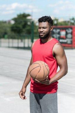 afro american basketball player