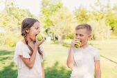 Fotografie Kinder-Tafeläpfel