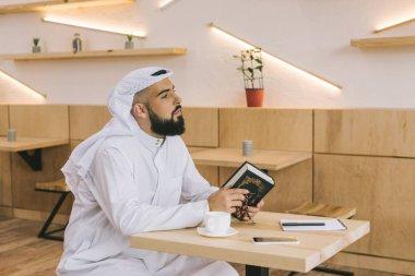 muslim man with quran
