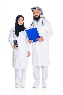 happy muslim doctors