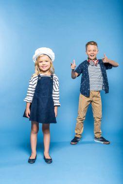 happy kids dancing