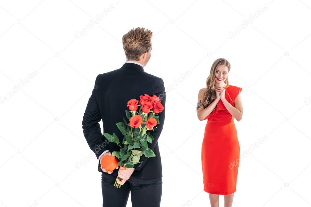 couple at st valentines day