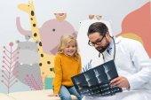 rentgenové zobrazení pediatrist Girl