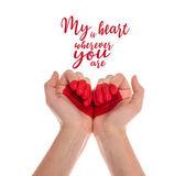 kéz a szív szimbólum