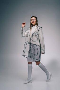 Fashionable raincoat