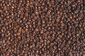 Fotografie roasted aromatic brown coffee beans