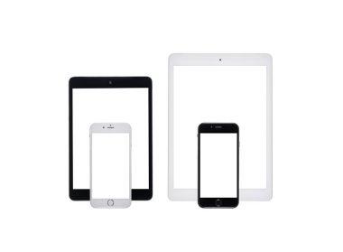 digital tablets and smartphones