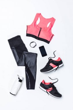 sportswear and sport equipment
