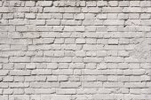 Photo white brick wall background