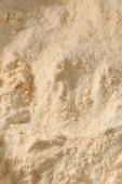 full frame shot of protein powder