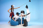 Fotografie Rodina, hraní, předstírání Piráti