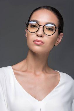 attractive stylish businesswoman