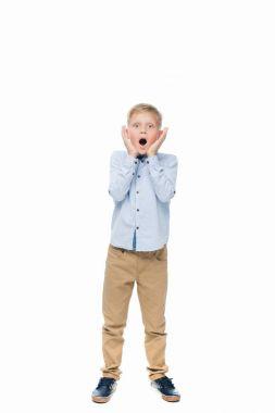 shocked kid