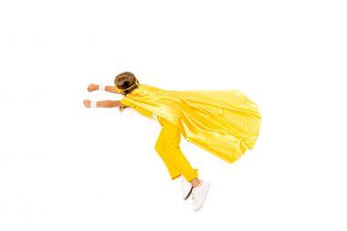 superhero girl flying