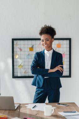 confident african american businesswoman