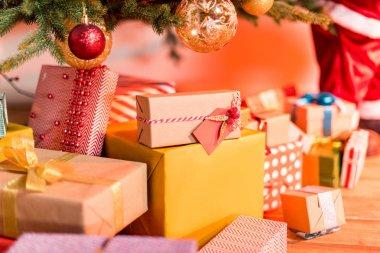 """Картина, постер, плакат, фотообои """"рождественские подарки """", артикул 164984140"""
