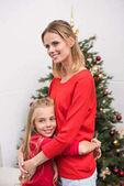 Rodina na vánoční stromeček