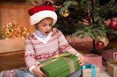 Fényképek gyermek tartó karácsonyi ajándék