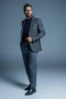 Businessman in formal suit