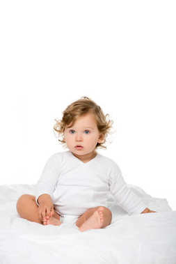 caucasian toddler girl