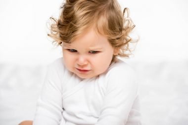 upset toddler girl