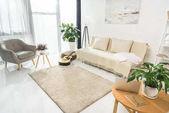 Photo Minimalistic living room interior