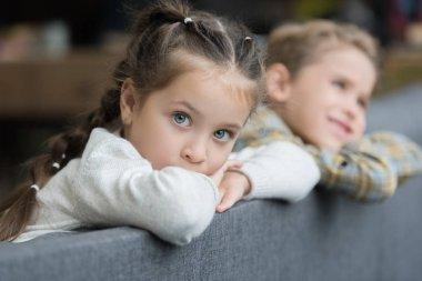 Preschooler siblings