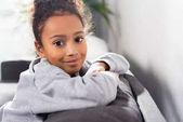 Fotografie afrikanische amerikanische entzückenden Kind