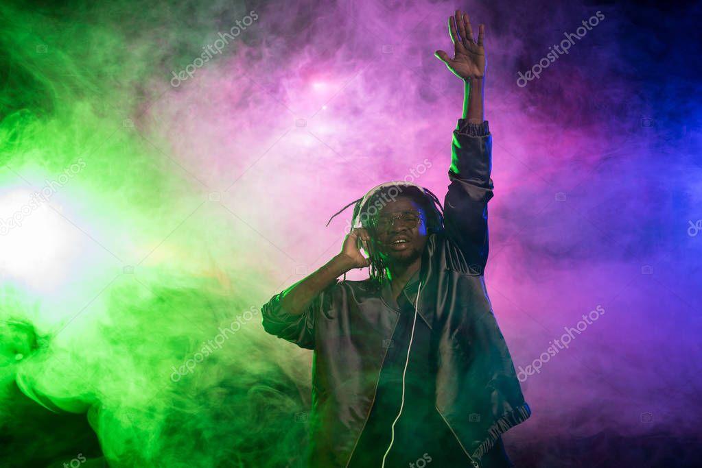 professional african american DJ