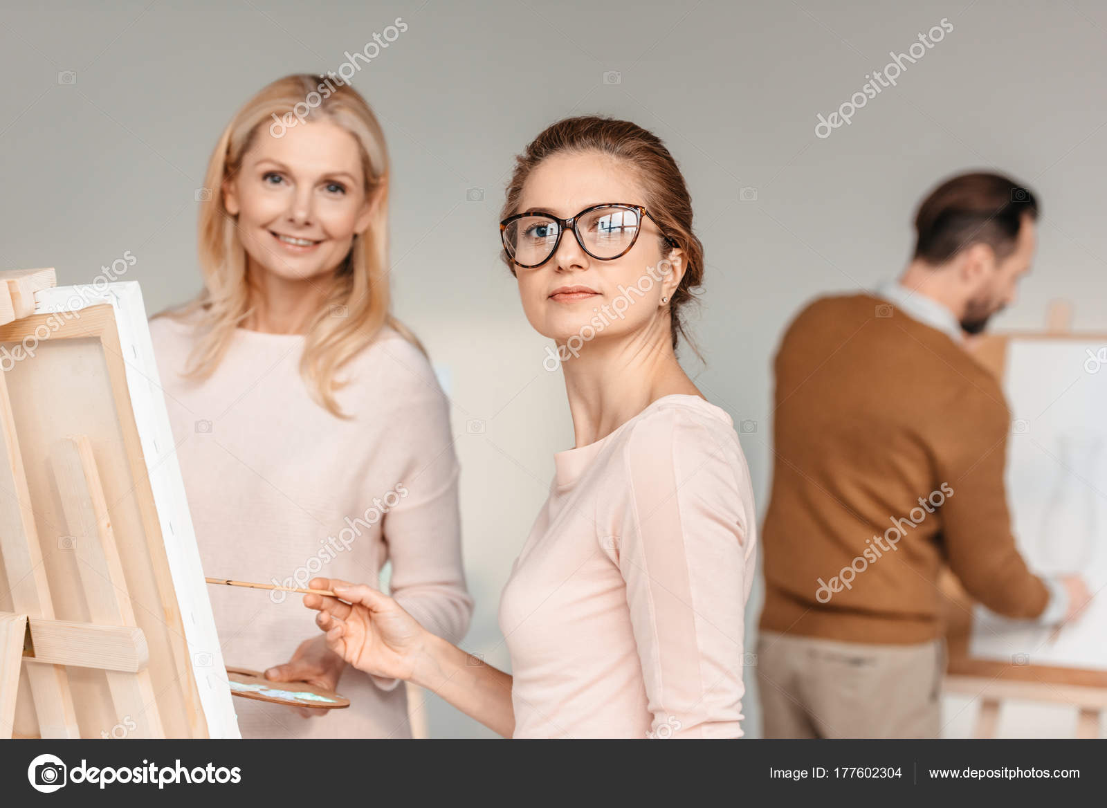 You incorrect Women posing for art classes