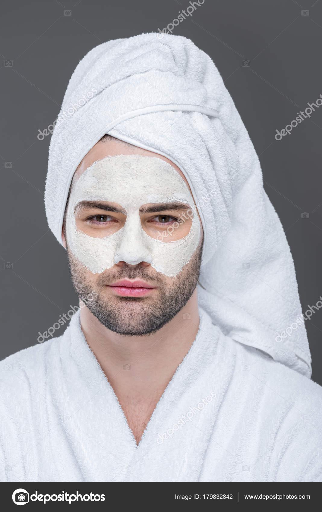 masque argile homme