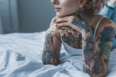 Fotografie Tattooed girl