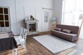 interiér útulné pokoje stylovým nábytkem