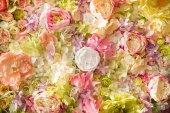 zár-megjelöl kilátás-ból gyönyörű virágos háttér pályázati elegáns virágokkal