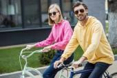 Fotografie elegantní pár brýle na jízdní kola