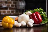 ingredience pro vaření večeře