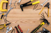 Fotografie různé nástroje pro reparement