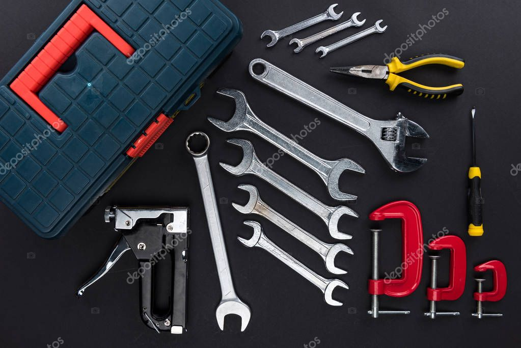 toolbox and reparement tools