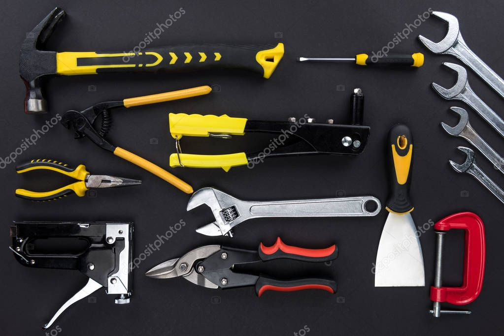 various reparement tools