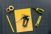 Fotografie Notebook and reparement tools