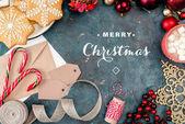 Karácsonyi édesség és dekoráció