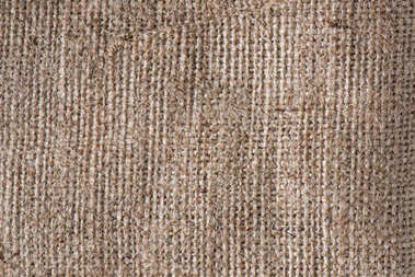 close up view of sackcloth covering texture
