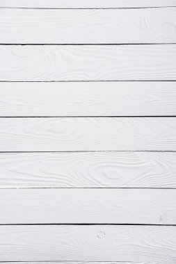 Wooden white striped textured background stock vector