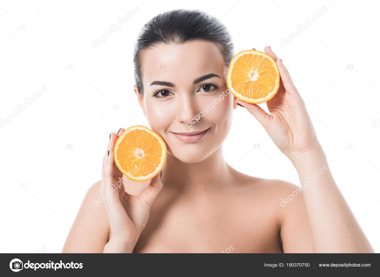 Fruit look like naked girl think