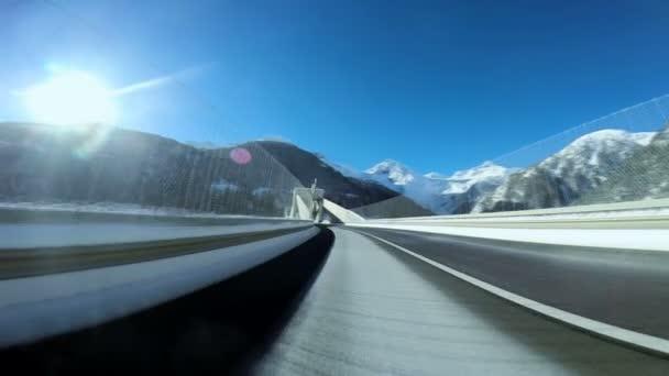 palubní auto pohled jízdy silnici ulice poháněcího rush rychlost pohybu
