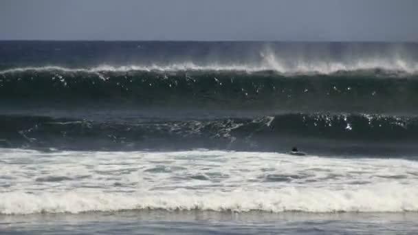 szörfös hullámok készlet, evezés