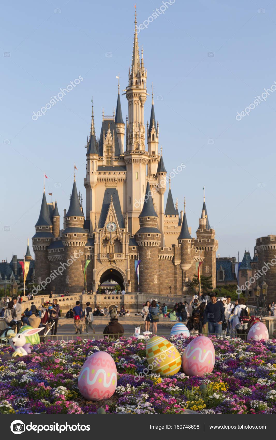 Tokyo Disneyland Cinderella Castle Stock Editorial Photo C Arakias