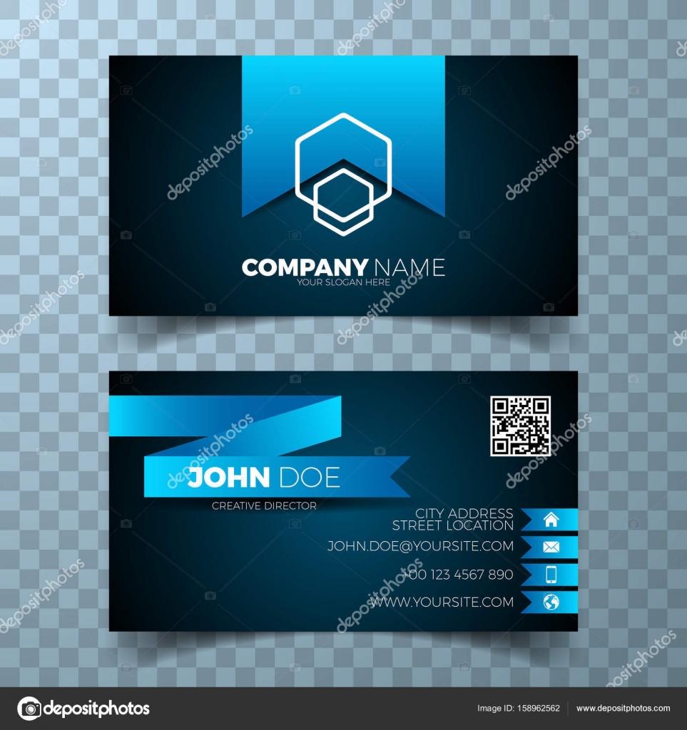 Vector modern business card design template on clean background vector modern business card design template on clean background stock vector colourmoves